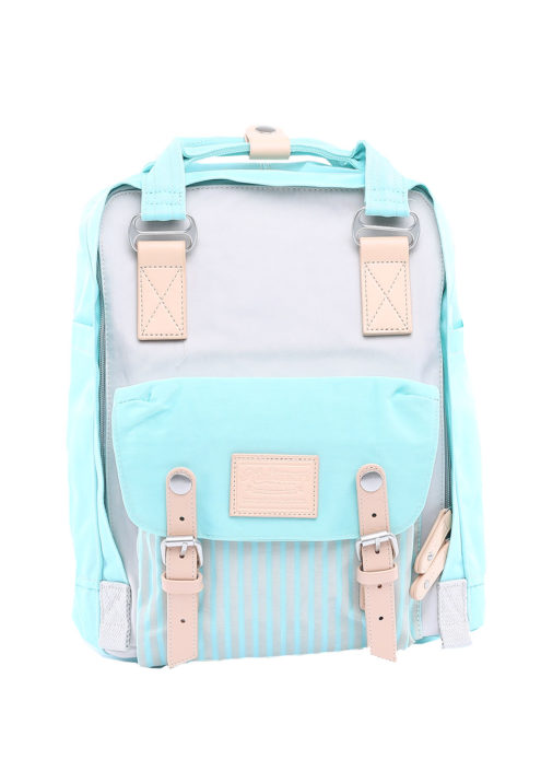 Stylish Laptop Backpack - Buttercup PINSTRIPE JUNGLE | Himawari Asia