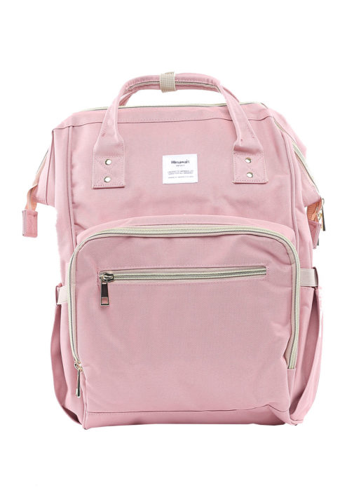 Multi Pocket Backpack Camelia DUSTY PINK | Himawari Asia