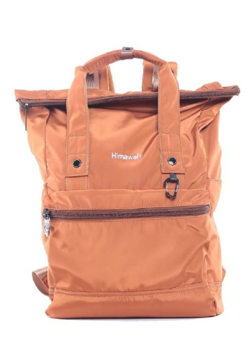 Men's Adventure Backpack - Juniper Rolltop COFFEE BROWN | Himawari Asia
