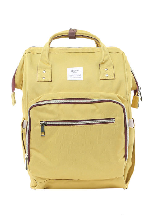 Multi Pocket Backpack Camelia YELLOW | Himawari Asia