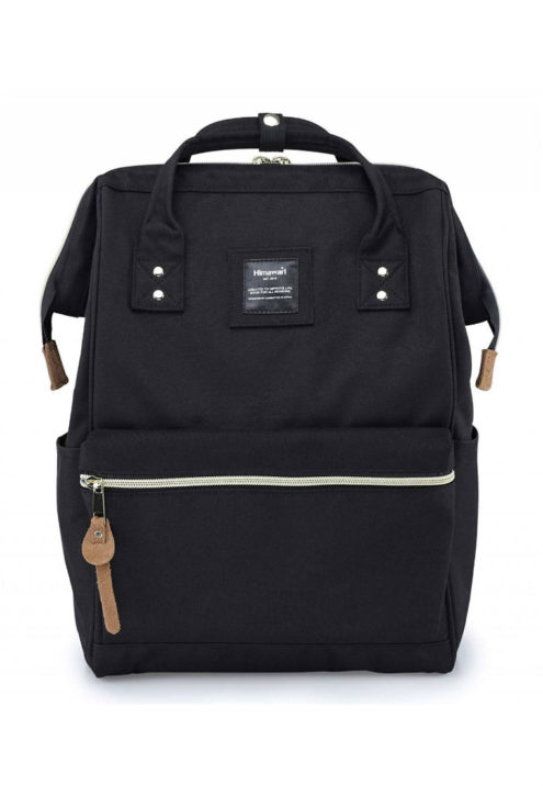 Minimalist Travel Backpack - Holly BLACK | Himawari Asia