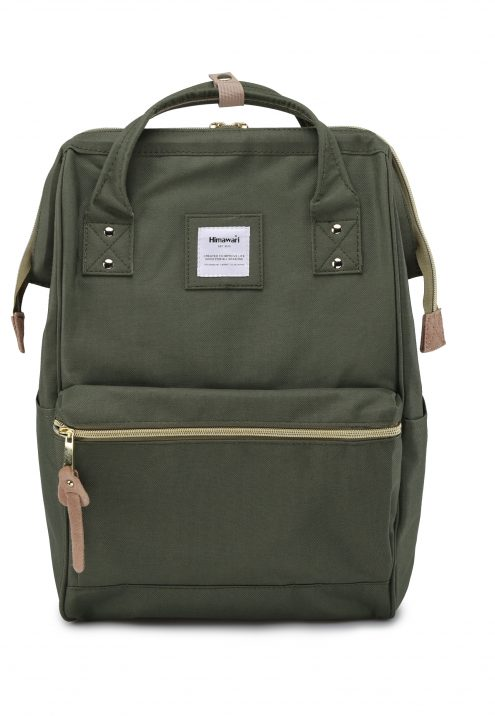 USB Charger Backpack - Holly ARMY | Himawari Asia