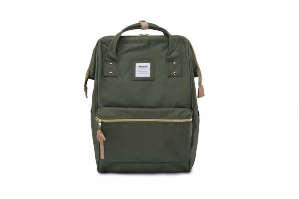 USB Charger Backpack - Holly ARMY   Himawari Asia