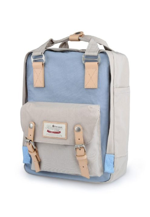 Stylish Laptop Backpack - Buttercup PASTEL BLUE | Himawari Asia