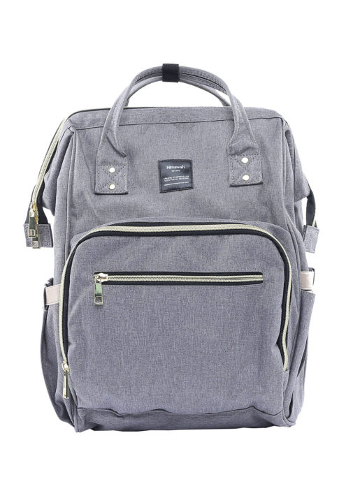 Multi Pocket Backpack Camelia GREY | Himawari Asia