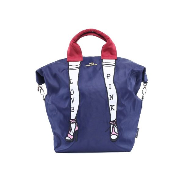 Stylish Backpack College - Zapatos BLUE/RED | Himawari Asia