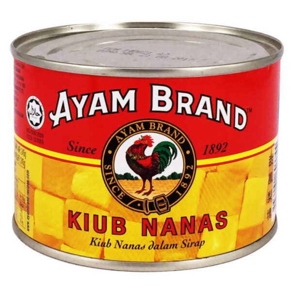 AYAM BRAND PINEAPPLE CHUNKS IN SYRUP 454Gm