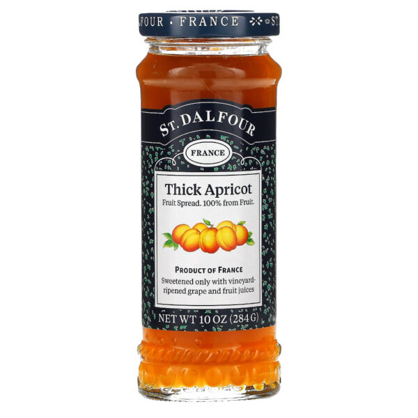 ST.DALFOUR THICK APRICOT JAM 284G