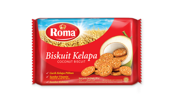 ROMA COCONUT BISCUIT 300G