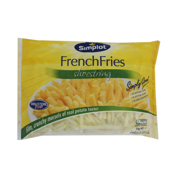 Simplot Shoestrings French Fries 1Kg