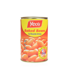 YEO'S BAKED BEANS IN TOMATO SAUCE 425G
