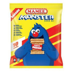 MAMEE MONSTER FAMILY PACK HOT & SPICY 8'S X 25G