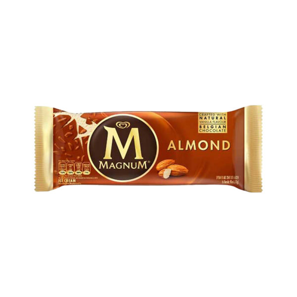 Wall'S Magnum Almond Amber 70G