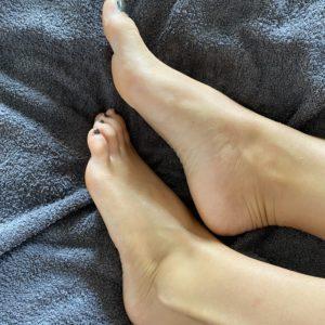 2 Minütliche Öl Fußmassage