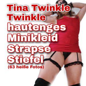 Im Minikleid mit Strapsen & Stiefeln (63 heiße Fotos FSK16)