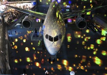 航空迷新基地 Flight Of Dreams 波音787 展示館
