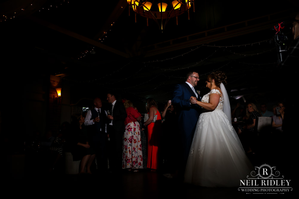 Bartle Hall Wedding Photographer Bride and Groom First Dance