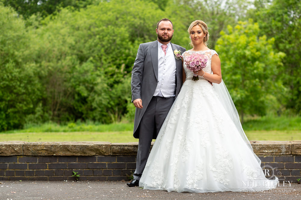 The Villa Hotel Wedding Photographer Bride and Groom
