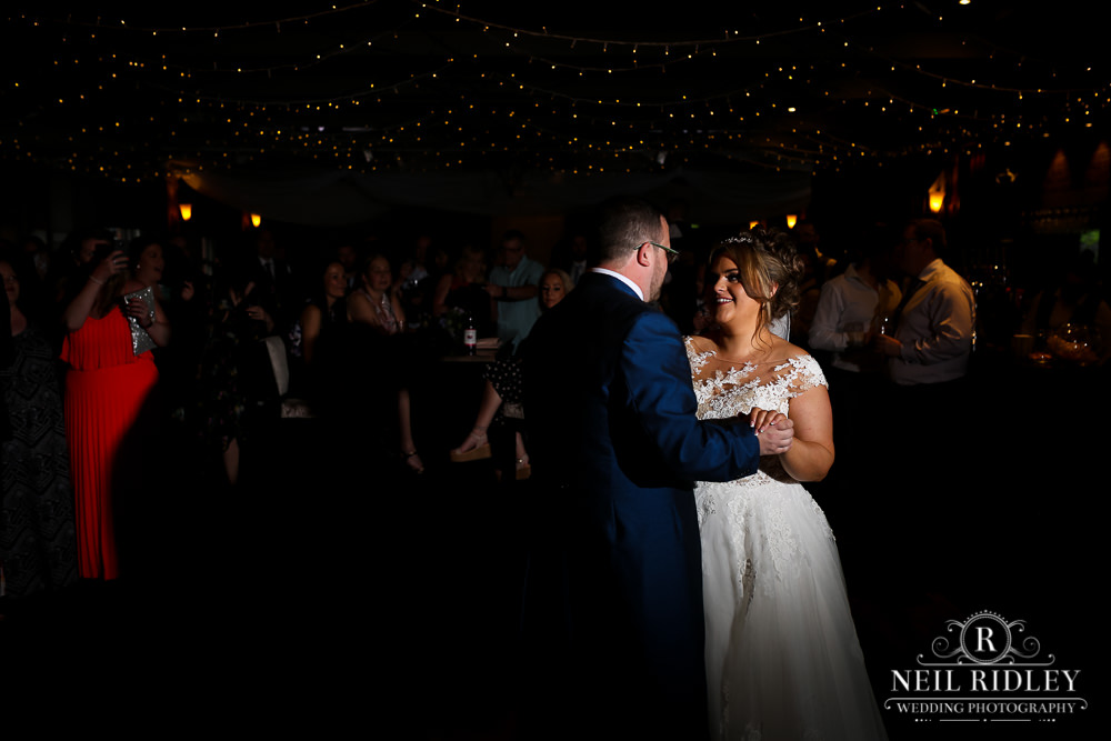 Bartle Hall Wedding Photographer First dance with guests
