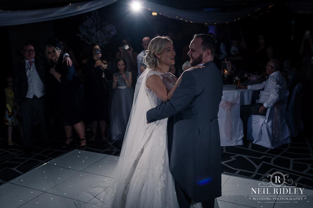 The Villa Hotel Wedding Photographer First Dance