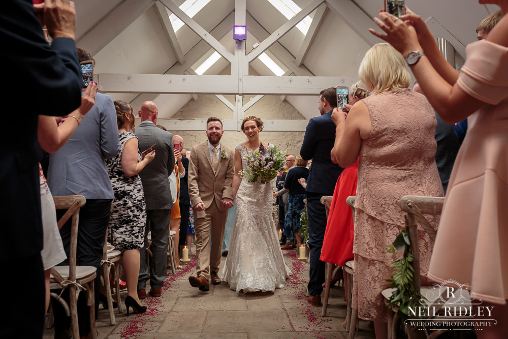 Wyresdale Park Wedding - Married at last