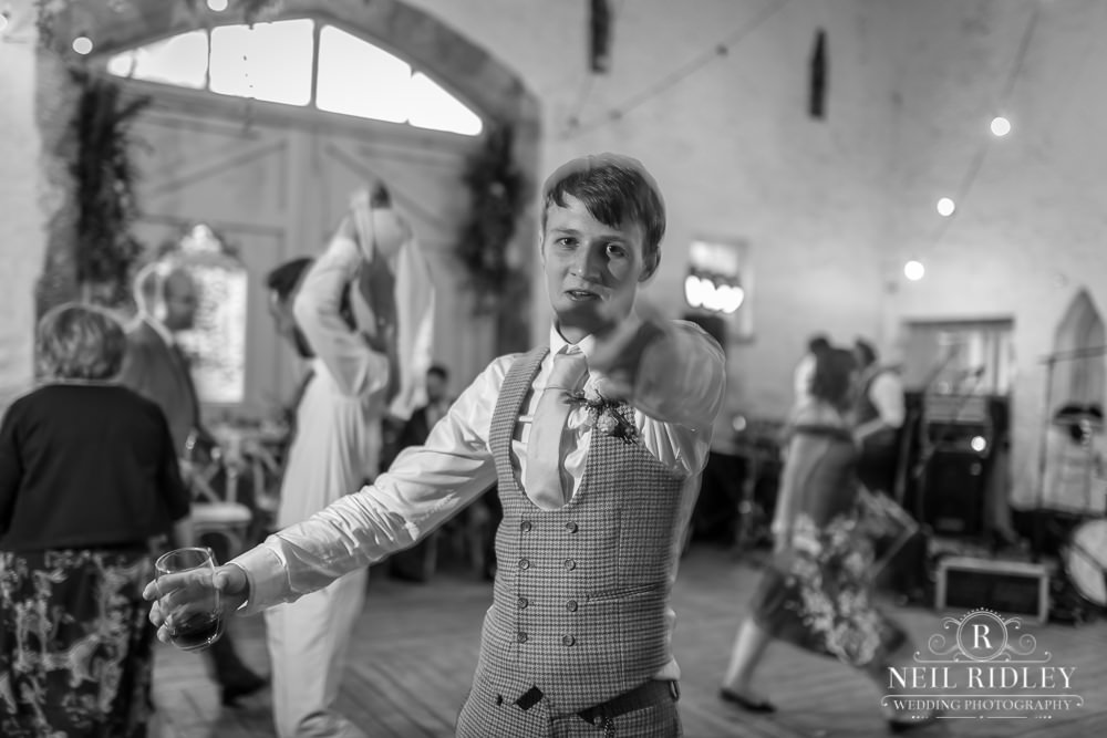 Wyresdale Park Wedding - Young Wedding Guest