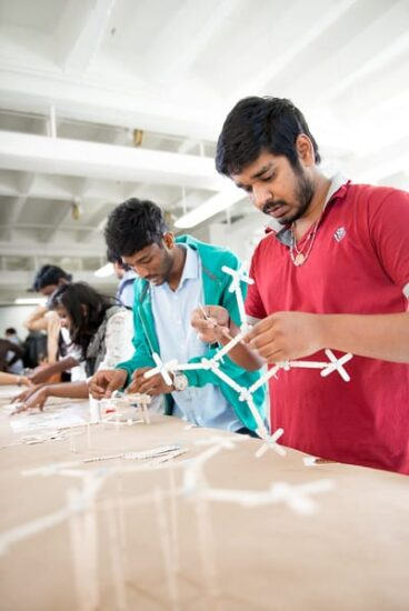 students hands-on research