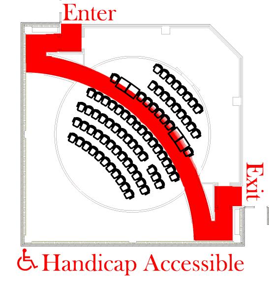 Planetarium Handicap Map