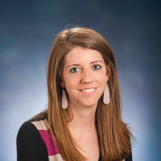 Headshot of Sarah Baker.