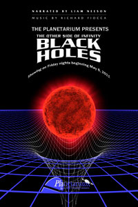 black holes the other side of infinity at planetarium Theater