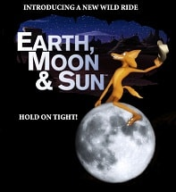 earth moon and sun show at planetarium theater