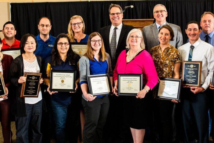 Award-winning faculty