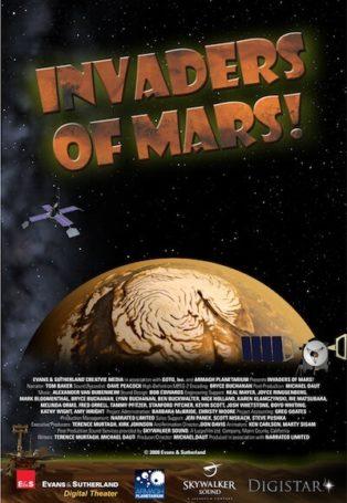 invaders show at planetarium theater