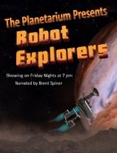 Robot Explorer show at planetarium theater