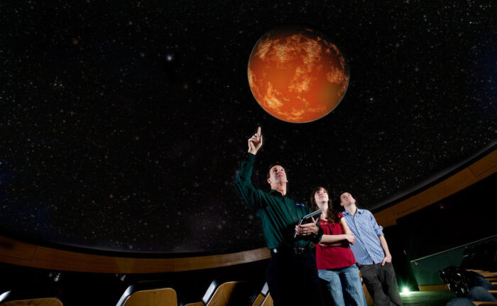 A&M-Commerce on Mars