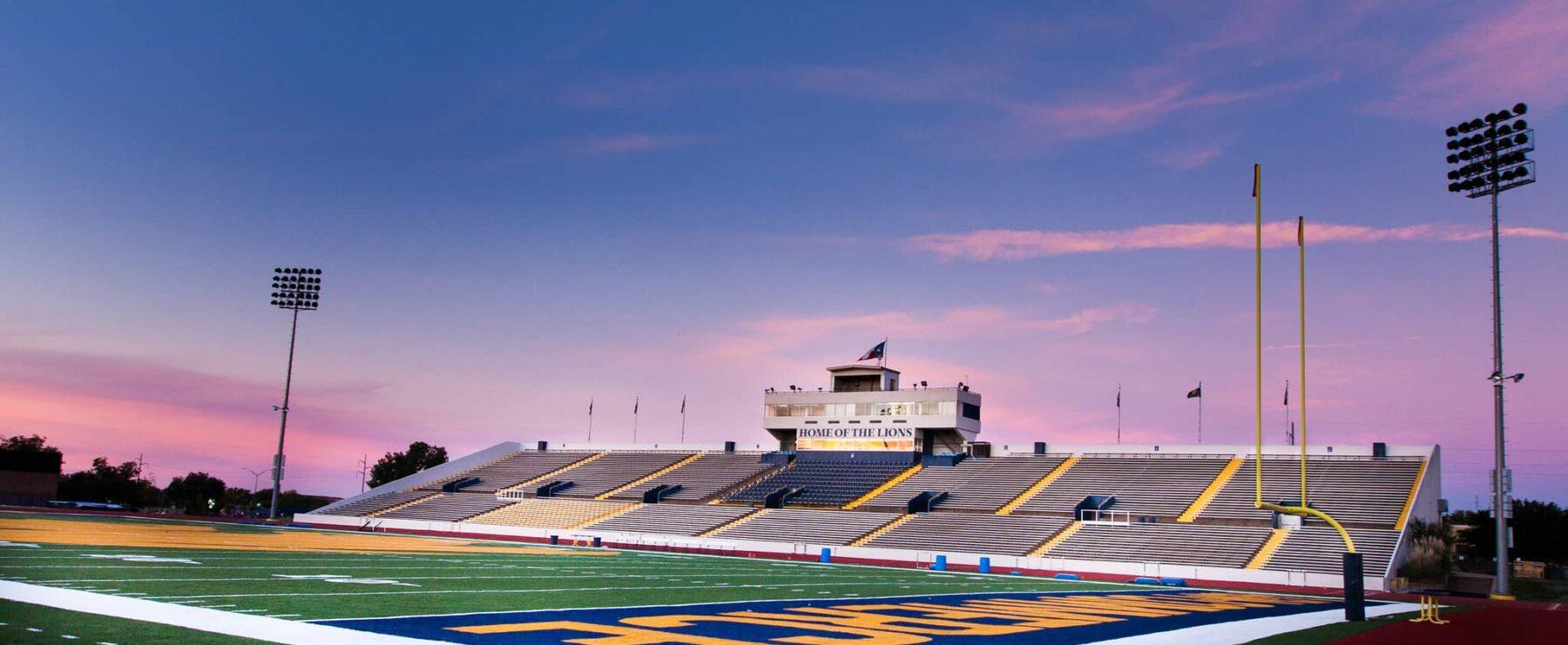 Memorial Stadium at A&M-Commerce