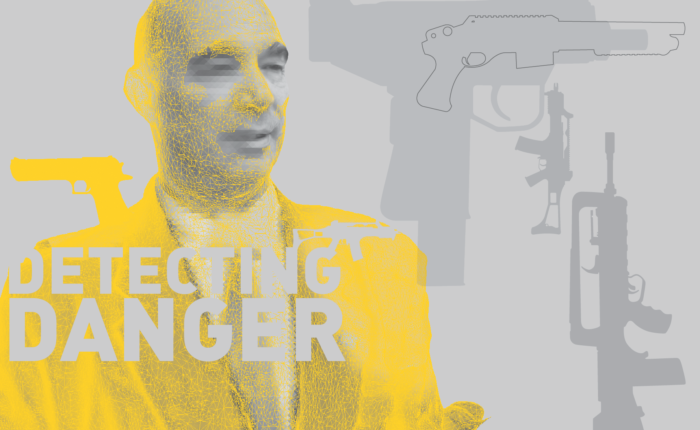 Detecting Danger: Dr. Sirakov background 'GUN'