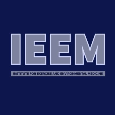 Institute for exercise and environmental medicine logo.