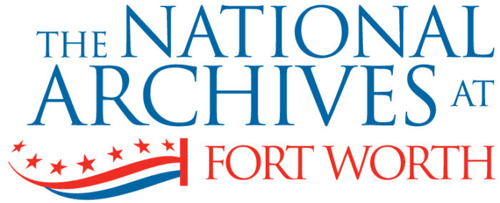 The National Archives at Fort Worth logo.
