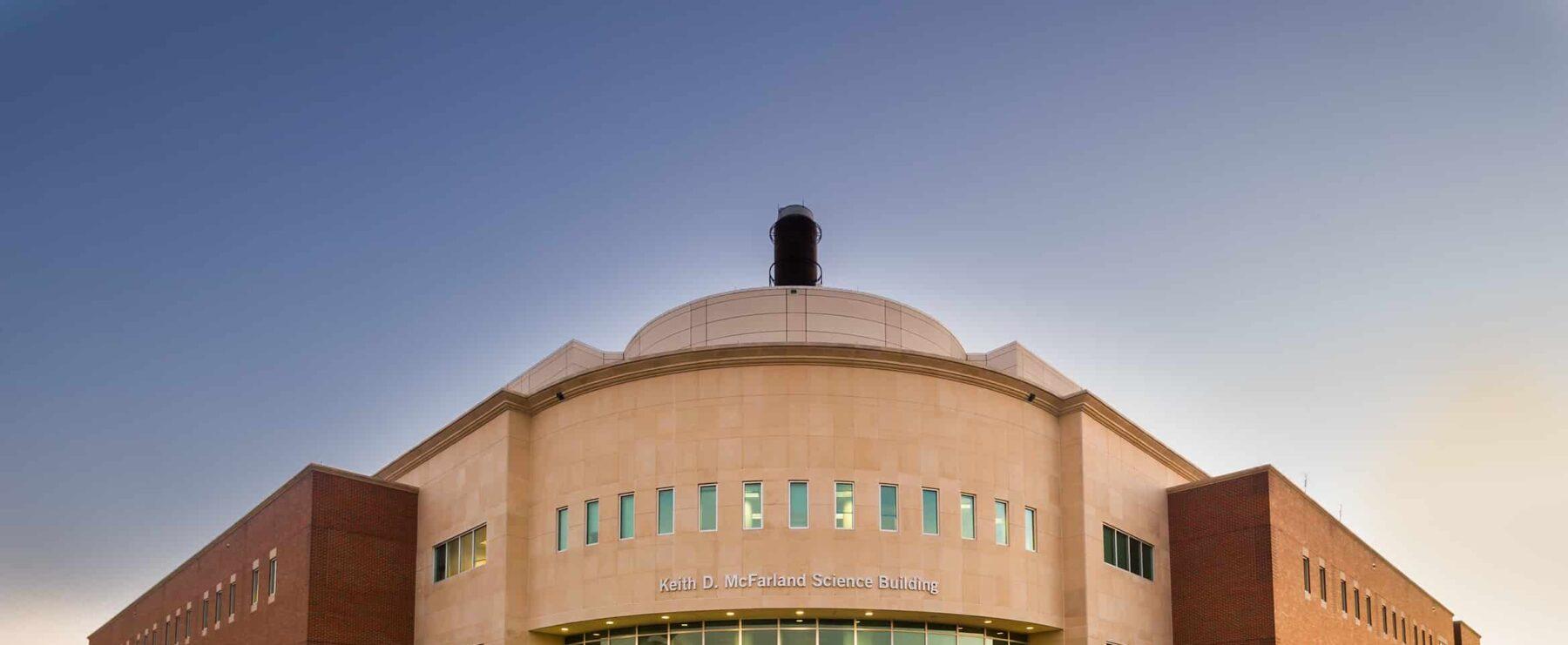 McFarland Science Building at TAMUC