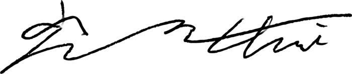 Signature of Dong W. Choi