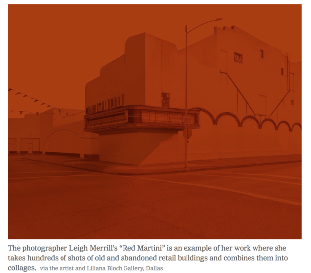 Leigh Merrill featured in the New York Times