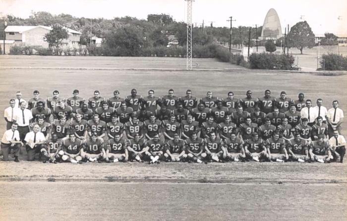 The 1968 ETSU football team