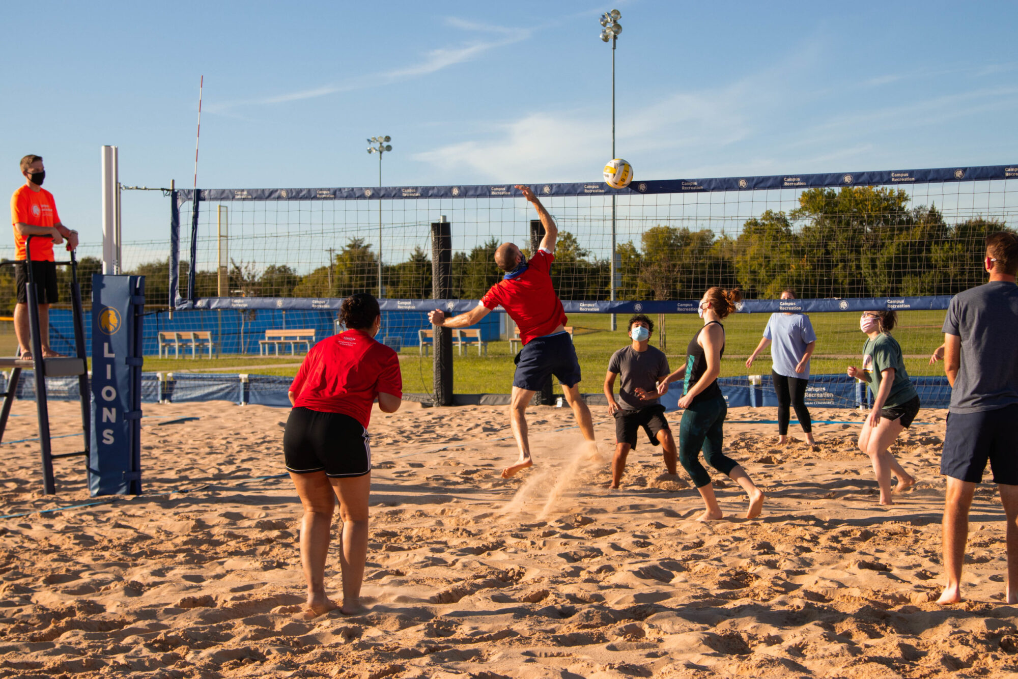 Sand Volleyball at Cain