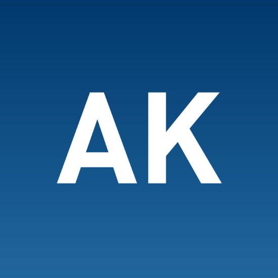 AK initials