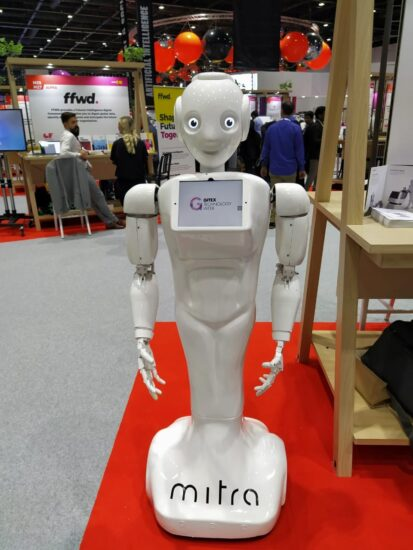 Assistive robot, Mitra
