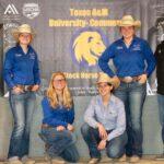 TAMUC stock horse team