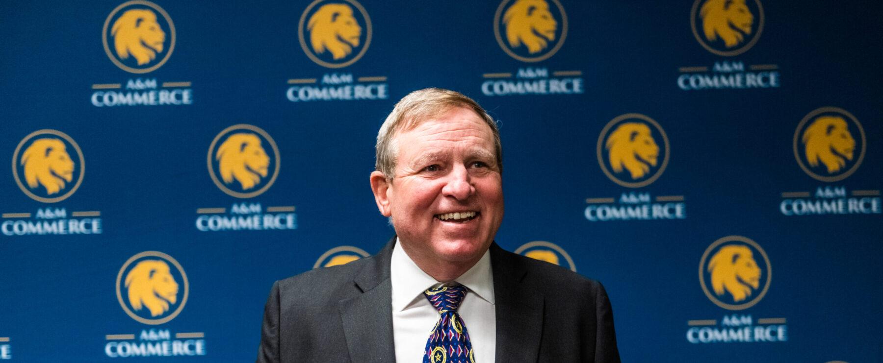 Dr. Chuck Holt, A&M-Commerce