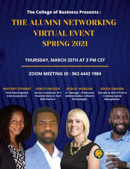 The Alumni Networking Virtual Event Spring 2021