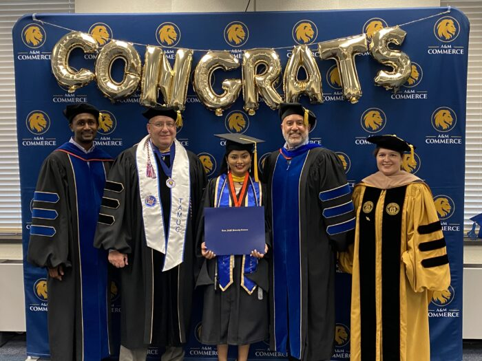 Graduate Reception Spring 2021